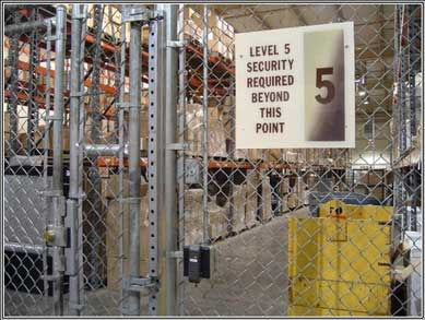 Secure Warehousing